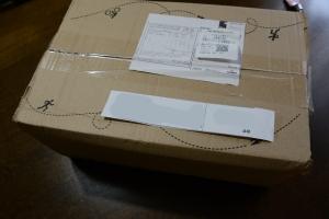 wiggleから届いた箱